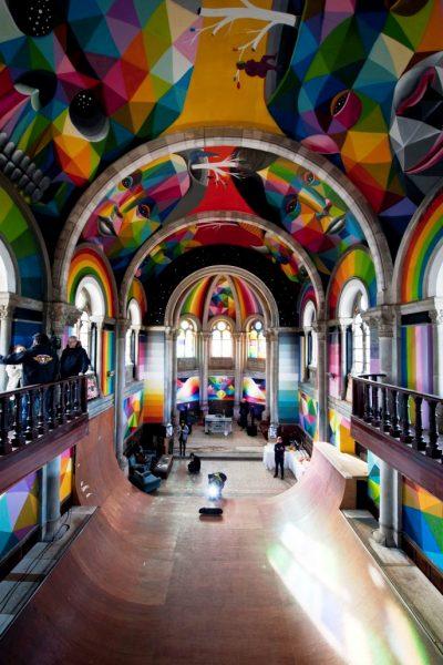 La Iglesia Skate ©Elchino Pomares