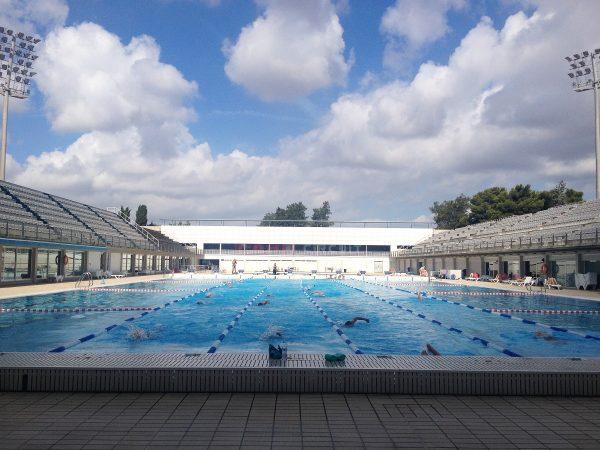 1992年バルセロナ五輪や昨夏の世界水泳で水球の決勝が行われたプール