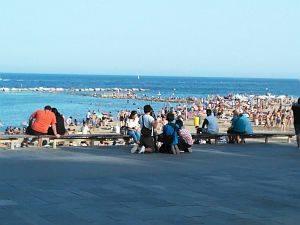 バルセロナビーチ