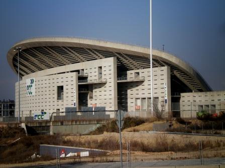 改修工事中のマドリード・オリンピック・スタジアム photo by OlimpiaYGF