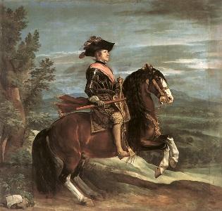 フェリペ4世がモデルとして指定したベラスケスの絵画