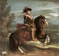 フェリペ4世の騎馬像の絵画