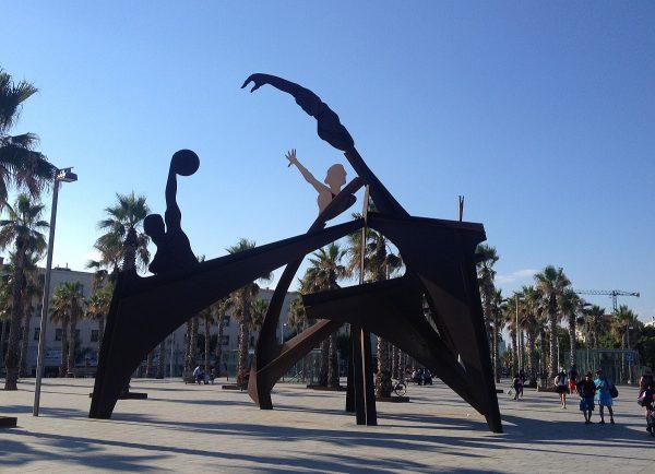 バルセロナ市内オブジェ