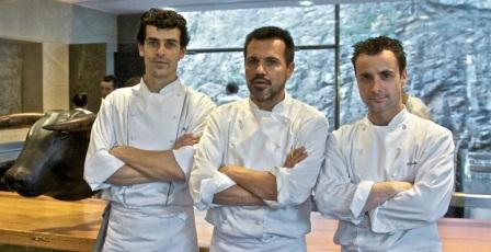 Mateu Casañas, Oriol Castro and Eduard Xatruch
